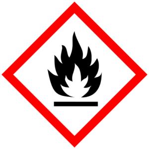 GHS02 hořlavé látky